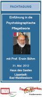 Fachtagung mit Prof. Erwin Böhm