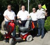 Spende: Elektro-Rollstuhl